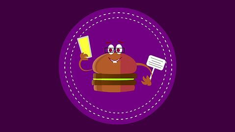 Yummy Animated Advertisement