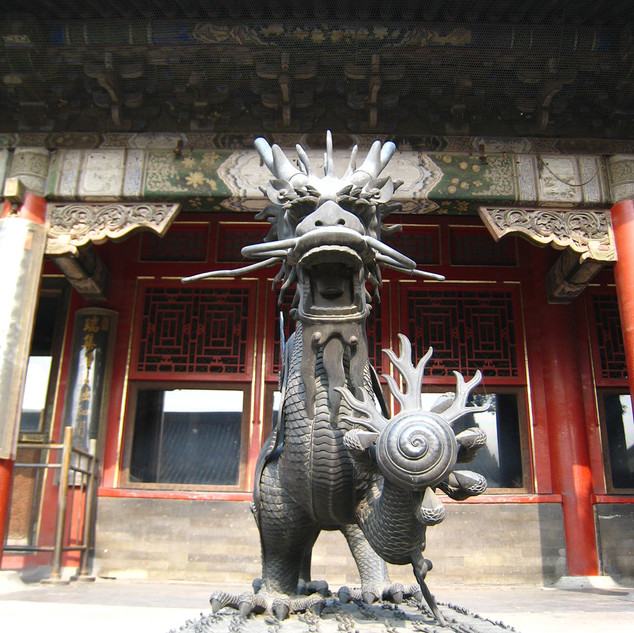 Forbidden City China Dragon