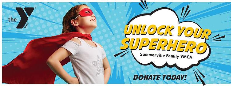 Summerville Family YMCA Digital Billboard Design Annual Campaign