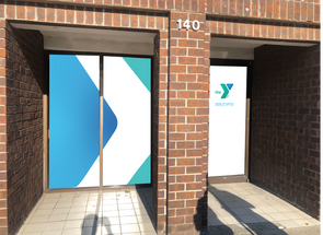 Summerville Family YMCA Downtown Window Graphics