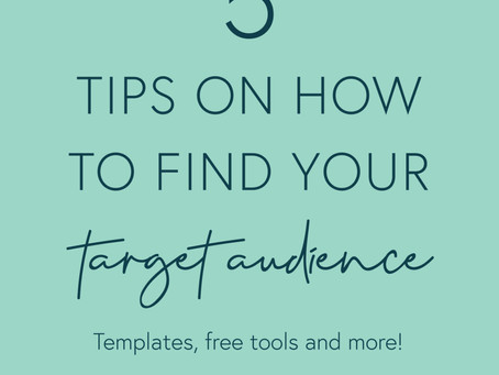5 Tips on How to Find Your Target Audience