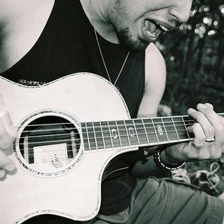 Black and White Guitar & Singer