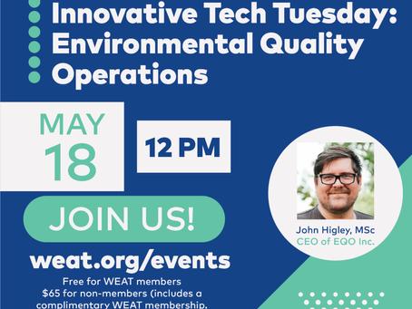 Innovative Tech Tuesday: Environmental Quality Operations