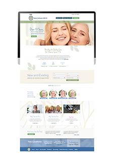 kamm mckenzie OBGYN Push Creative Designs Web Designs