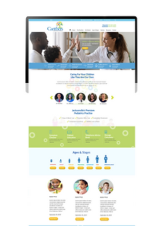 Carithers Pediatrics Web Design