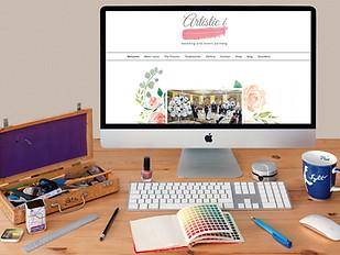 Artistici Wedding Website & Branding