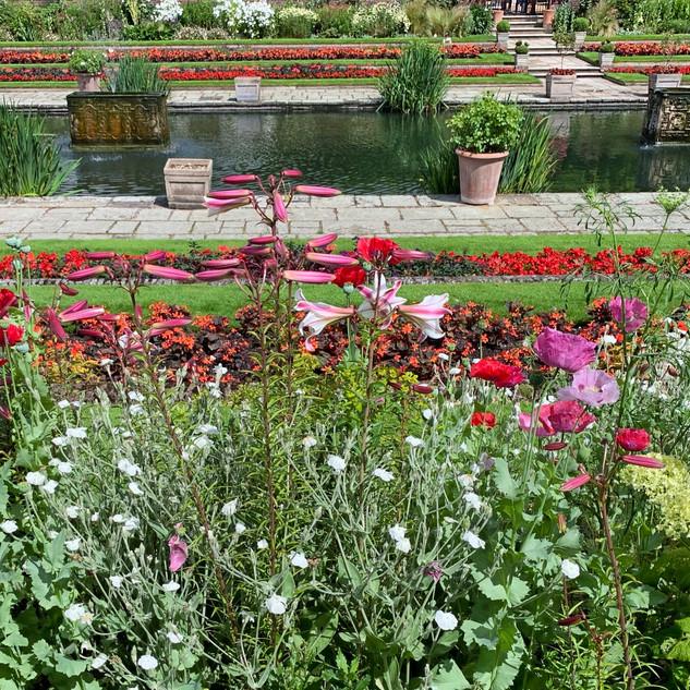 Diana's Garden, Kensington Palace, Hyde Park, London