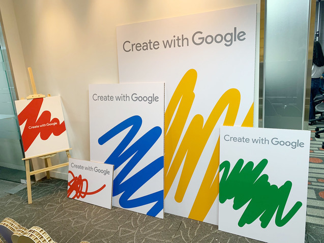 Create WIth Google Agency RoadShow