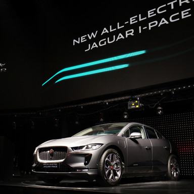 THE NEW ALL-ELECTRIC JAGUAR I-PACE