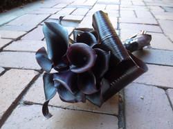 black calla bouquet