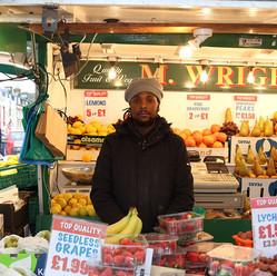 Bry, The Barrow, M. Wright fruit and veg stand, Oaklands Road