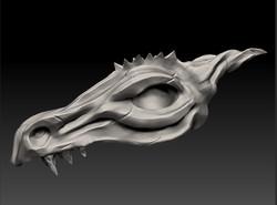 Dragon Skull - Speed Sculpt