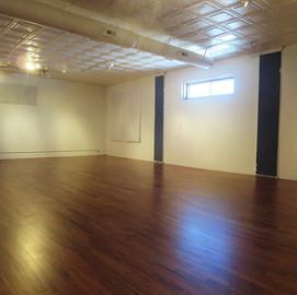 Corner Studio with New Floor