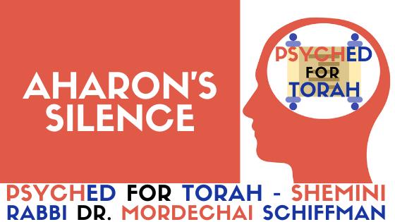 AHARON'S SILENCE