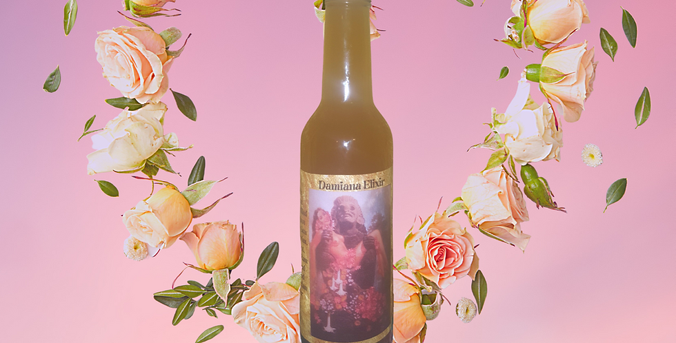 Damiana Rose Aphrodisiac Elixir
