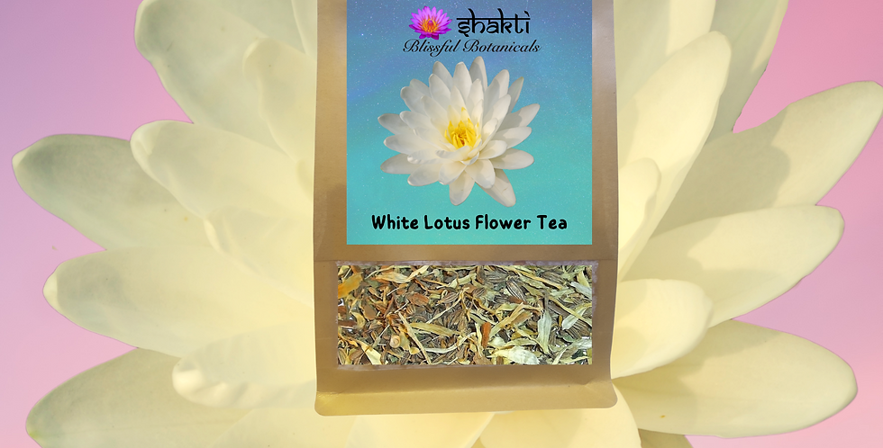White Lotus Flower Tea Blend