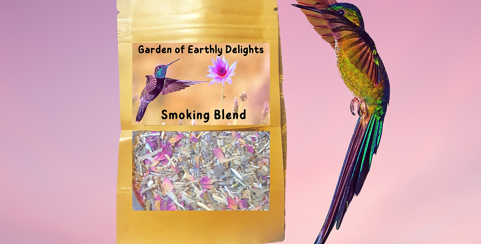 Garden of Earthly Delights Smoking Blend