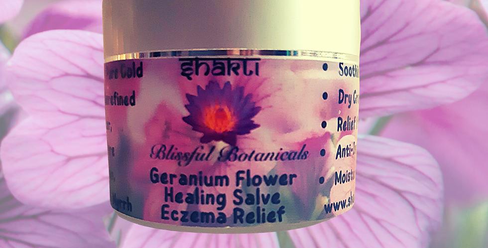 Geranium Flower Healing Salve