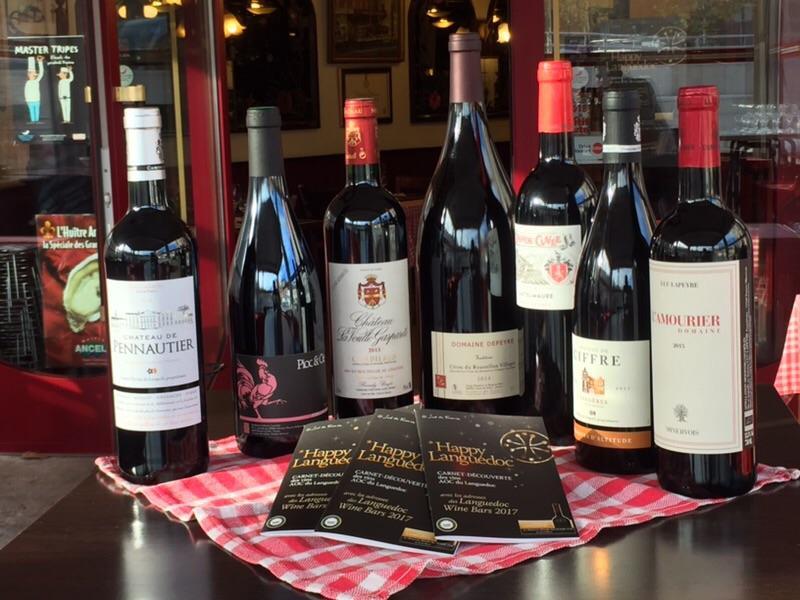 Selection de vins du Languedoc à retrouver Chez Carmen