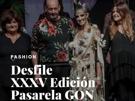 Desfile Goya Floristas en la XXXV Edición Pasarela GON