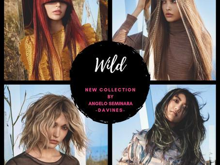 WILD, la nueva colección de Angelo Seminara para Davines