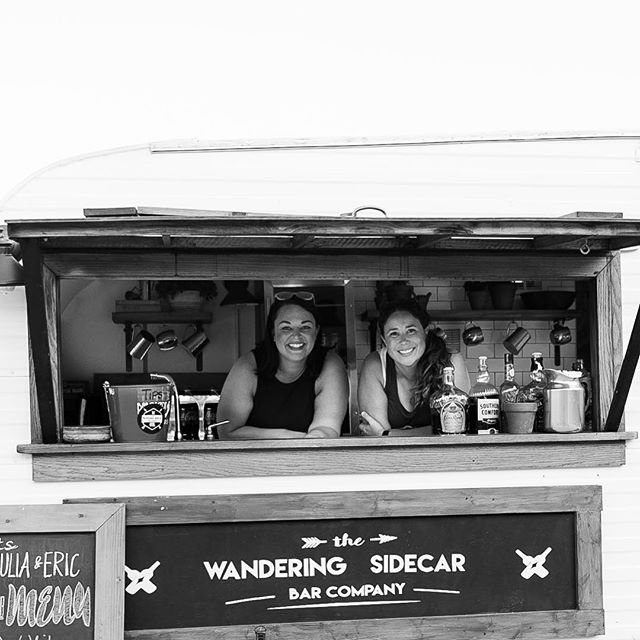 These smiling faces could be at your next party too! #thewanderingsidecarbarco 📸 _rebecca_chapman_p