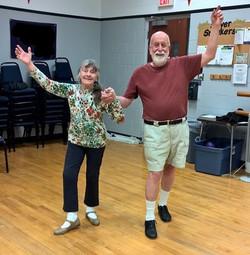 older dancers celebrating