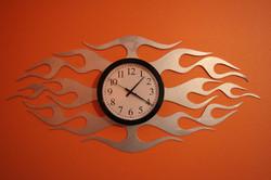 Flame Clock