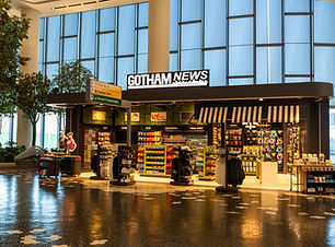 Gotham News at LGA Storefront Exterior 2