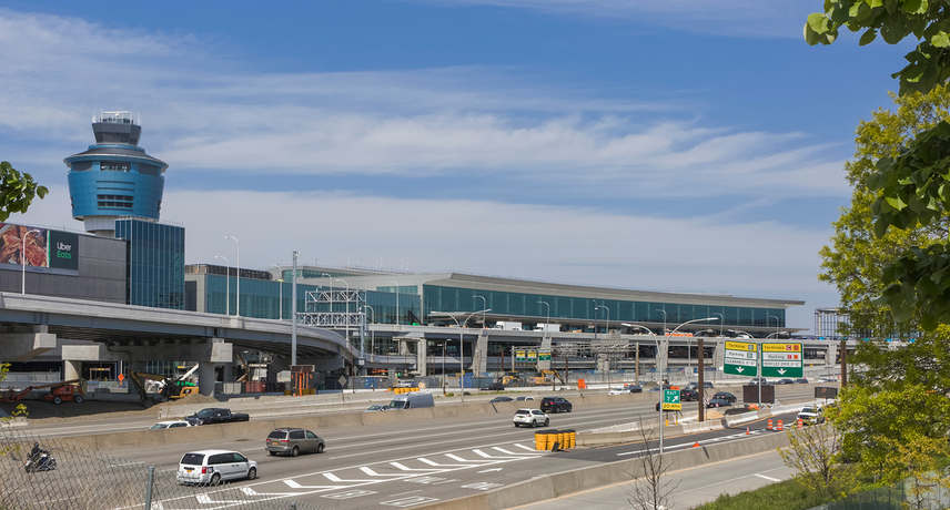 The New Arrivals & Departures Hall at Terminal B