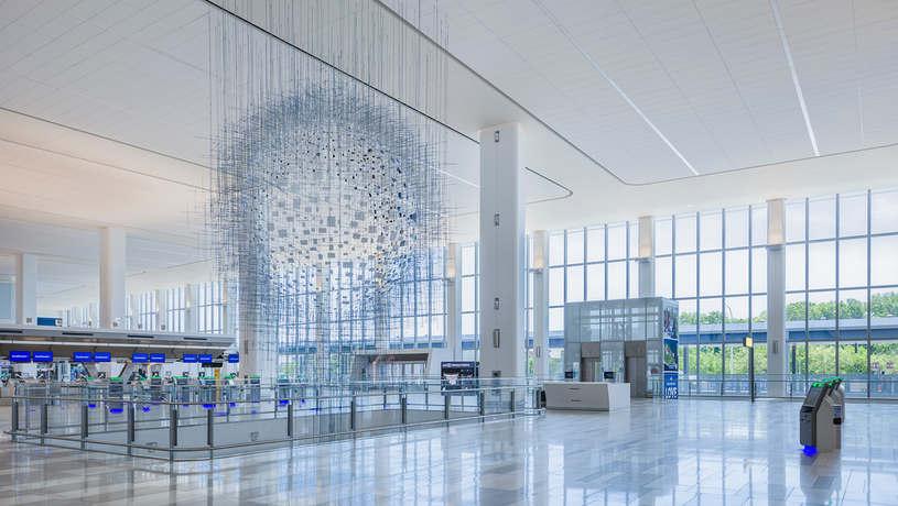 Arrivals & Departures Hall