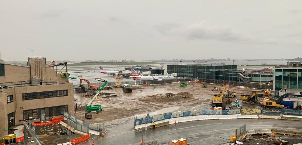 Hangar 1 Demolition Site Cleared