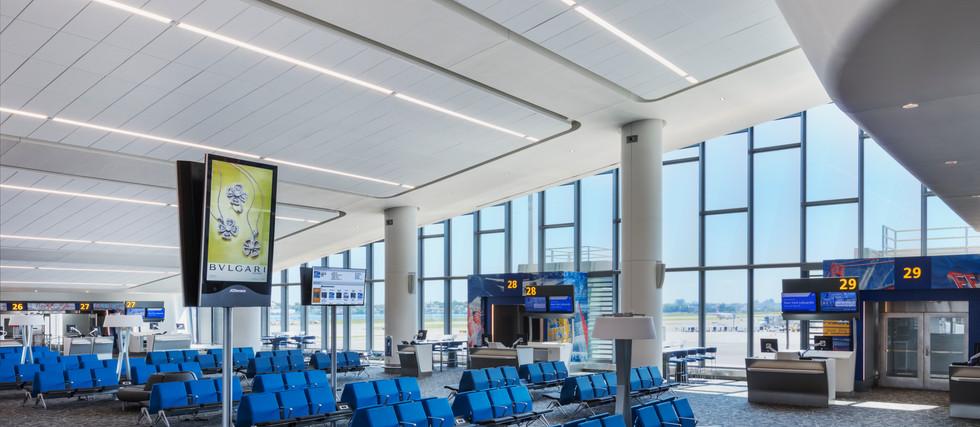 Western Concourse Gate Area
