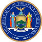 New York State seal.