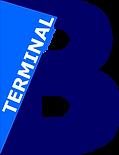 Terminal B logo.