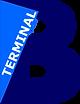 Terminal B logo