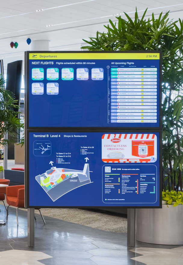 Digital Information Screens