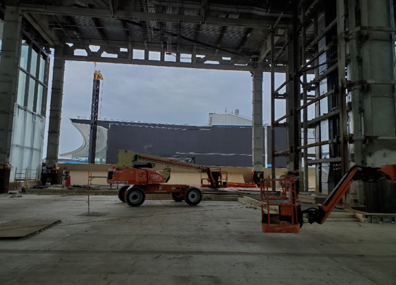 Central Hall Interior, Fall 2020