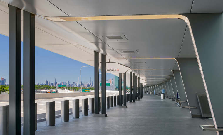 The Entrance of Terminal B