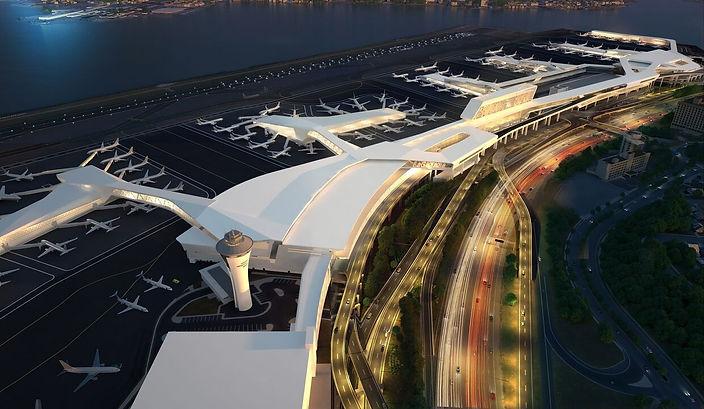 Rendering of the new LaGuardia Airport