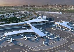 The new LaGuarida Central Terminal B