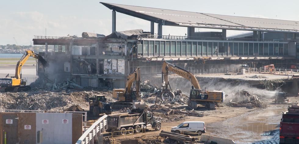 Central Terminal B Demolition
