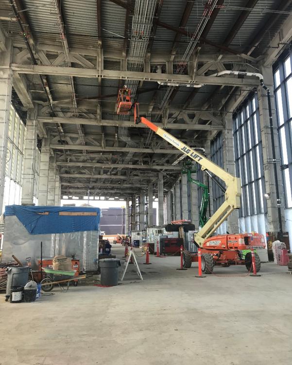 Central Hall Interior, Fall 2020