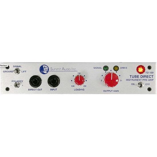 Summit Audio TD-100 Tube Pre / DI