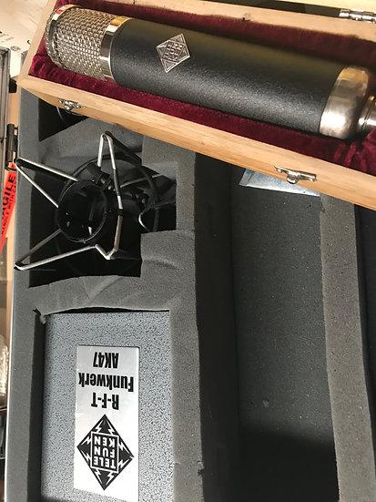Telefunken AK-47 Tube Condenser Mic
