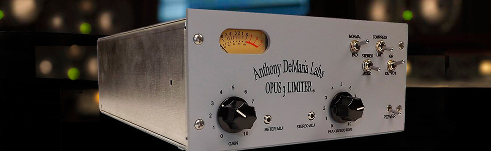 Opus 3 Optical Compressor/Limiter