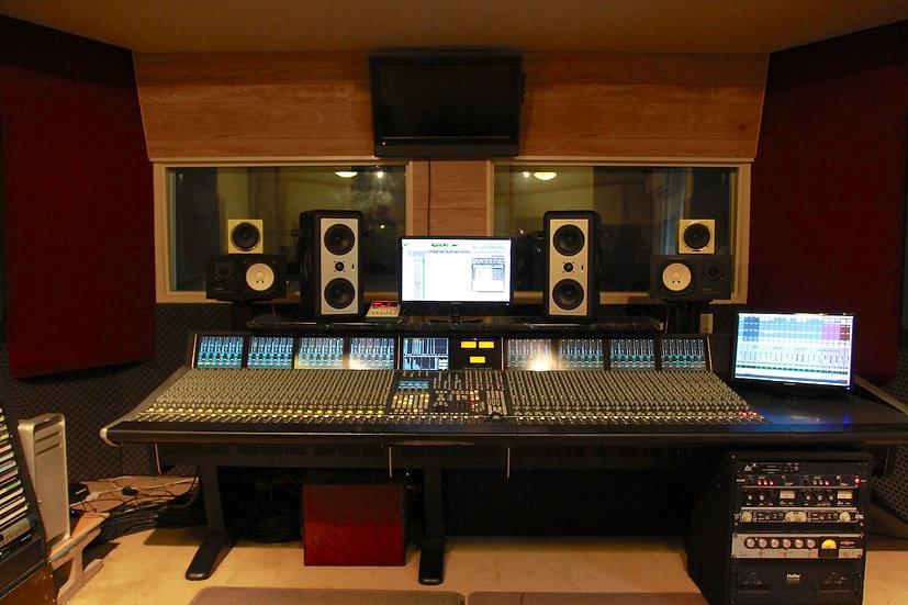 SSL 48 channel Duality recording console
