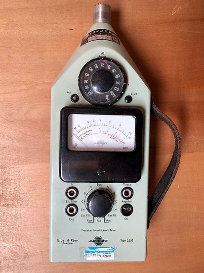 Bruel and Kjaer Sound Pressure meter