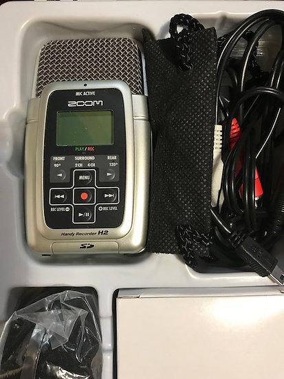 Zoom H2 Handheld Stereo Recorder