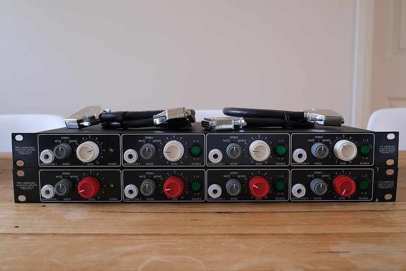 Pro Harmonic Headphone Amplifiers / two available